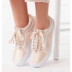 Vans Shoes - Vans Satin Lux Old SKool Rose Gold 377f22da3